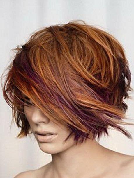 Coupe De Cheveux 2015 by 1000 Id 233 Es Sur Le Th 232 Me Cheveux Courts Violet Sur