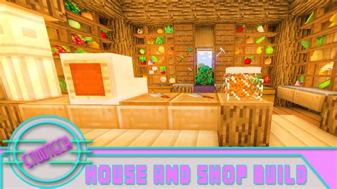 how to build a shop minecraft how to build a house and shop for pam s harvestcraft stud tech reloaded ep 13