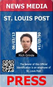media id card templates journalist id card templates