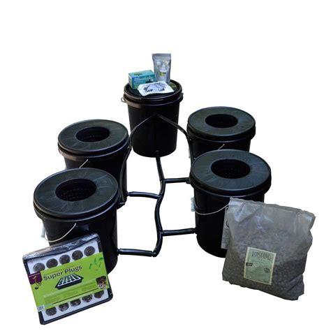 Dwc Search Viagrow Recirculating Water Culture Dwc 4 Hydroponic System Kit Vrdwc 4