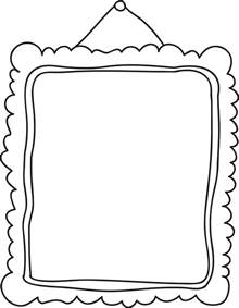 frame clip art black and white free clipart images