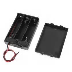 porta batterie stilo contenitore porta batterie portapile 3 posti per batteria