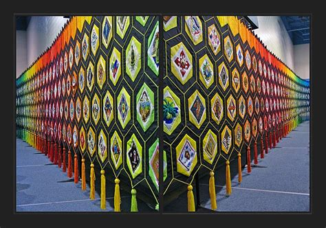 Quilt Of Belonging by Treklens Quilt Of Belonging Two Angles Photo