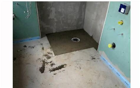 bodengleiche dusche einbauen estrich estrich bad