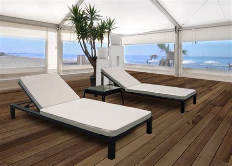 liege lounge doppel set rattan gartenliege sonnenliege lounge liege ebay