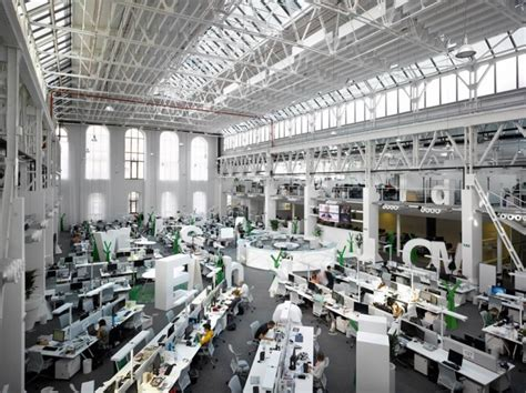 Collaborative Work Space by 9 Inspirational Open Office Workspaces Office Snapshots