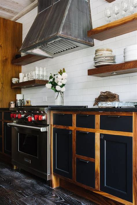 industrial kitchen   tone cabinets transitional kitchen