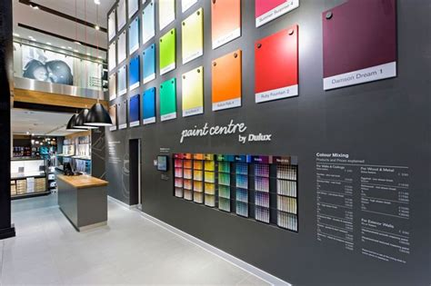 paint places retail design shop design diy store interior a r e