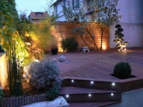 einbauleuchten garten yarial indirekte beleuchtung terrasse interessante