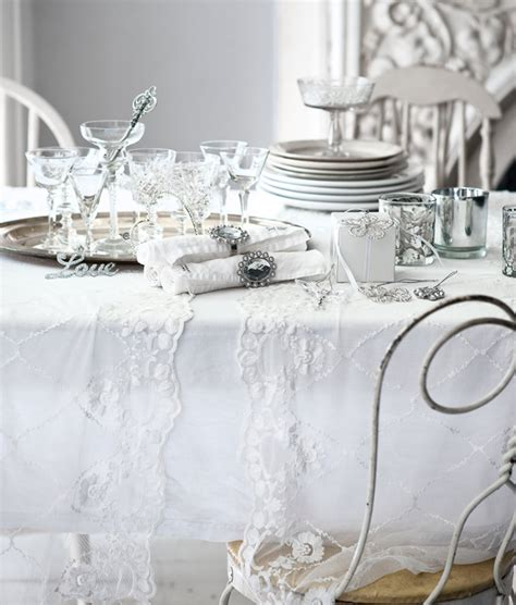 white and silver decors happy holidays