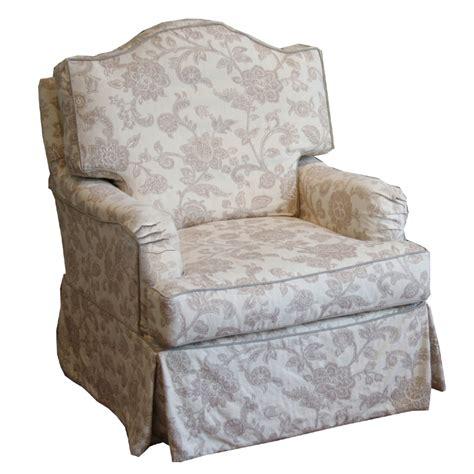 slipcovered glider chair sadie slipcovered swivel glider chair rosenberryrooms com