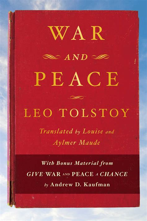 peace books war and peace ebook by leo tolstoy andrew d kaufman