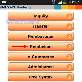 format sms banking bni ke bank lain cara membeli token listrik via sms banking bni emiscara com