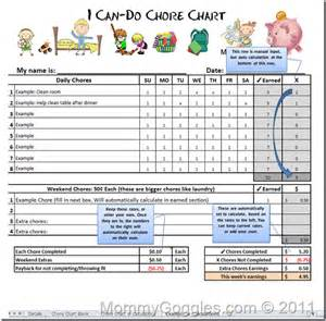 Allowance Chart Template by Maybe I Should Go Digital Might The Added Bonus Of