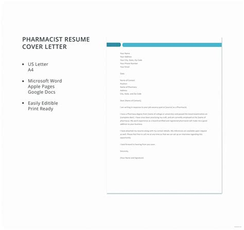 cover letter template google docs business letter