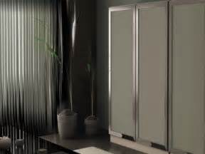 Aluminum Glass Cabinet Doors Kitchen Cabinet Glass Doors With Chromed Aluminium Frame With Angled Jamb And Using Frosted