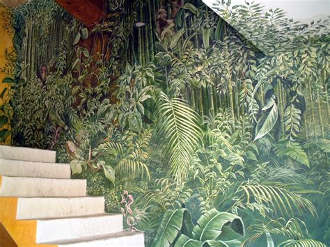 Tropical Wall Mural d 233 coration tropicale fresques en trompe l oeil