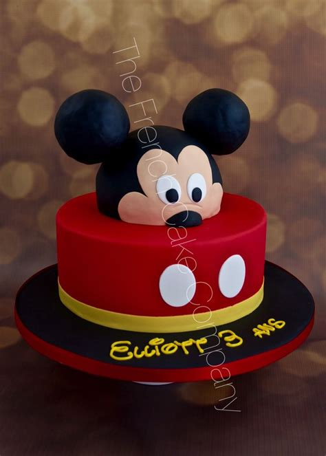 Gateau Tete De Mickey by Gateau Tete De Mickey Facile Home Baking For You Photo