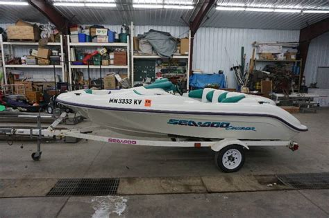 seadoo and boat trailer 1996 sea doo challenger jet boat in maple grove minnesota