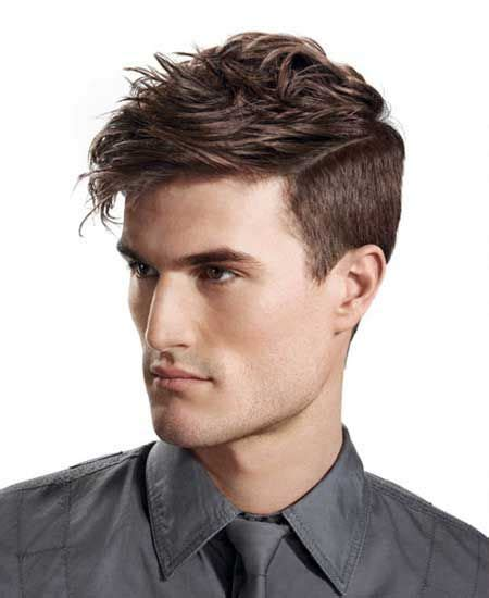 trendy hairstyle looks like a herringbone but with rubberbands trendy haircuts for teenage boys 2014 medium length