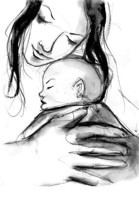 imagenes a lapiz para una madre dibujo de madre e hijo mujerhoy com