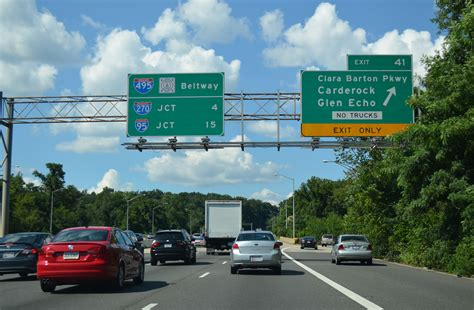 Virginia Traffic Search Maryland Aaroads Interstate 495 Capital Beltway Inner Loop