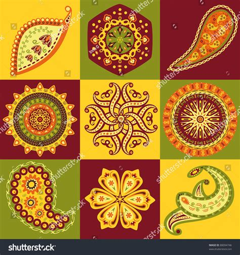 stock pattern screener india indian patterns stock vector 88094746 shutterstock
