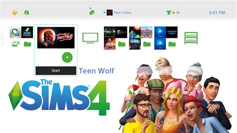 The Sims 4 Ps4 By Butikgames sims 4 ps4 theme 01 by beast72 on deviantart