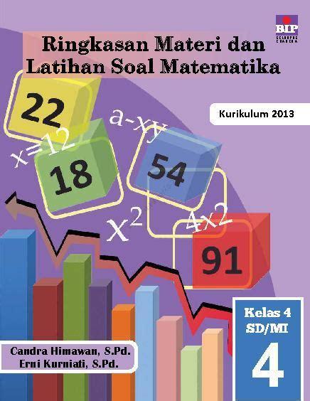 Jual Buku Soal Sd Kelas 4 by Jual Buku Ringkasan Materi Dan Latihan Soal Matematika