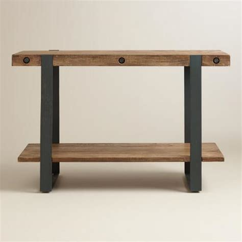 market console table rustic skylar console table market