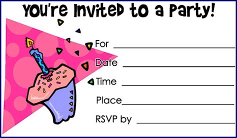 printable coloring birthday invitations printable birthday invitations