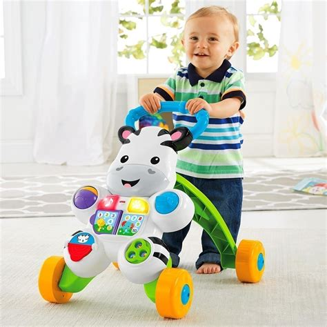 fisher price fisher price learn with me zebra walker toys