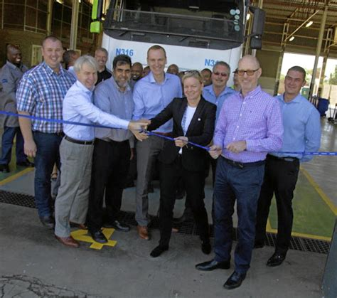 volvo trucks sa truck service parts dealership opens in alrode