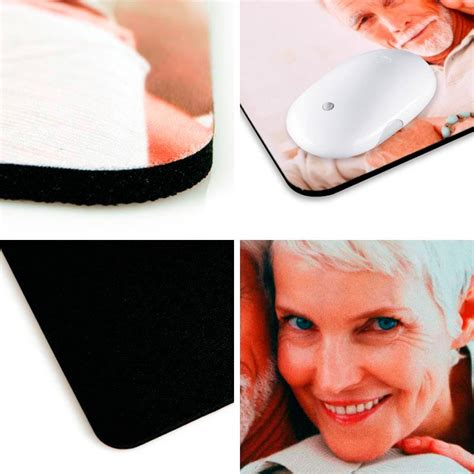 Personalised Mouse Mats Next Day Delivery by Personalised Photo Mouse Mats Custom Printed Mouse Pads Uk