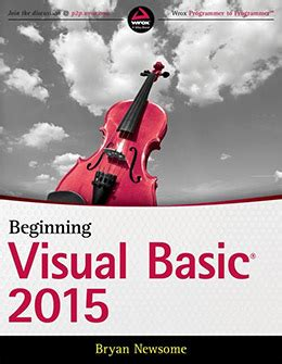 tutorial visual studio 2015 español pdf 14 best visual basic books for beginners