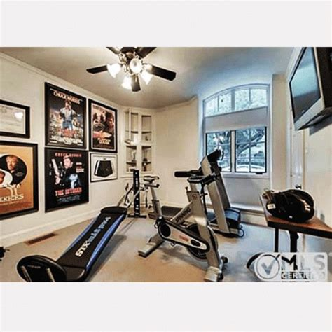 celebrity home gyms chuck norris has a chuck norris total gym in his old home