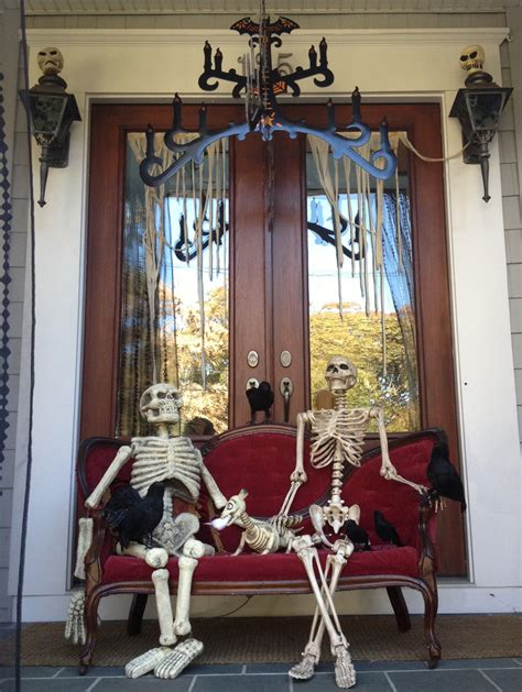 scary home decor home decor scary front porch decoration ideas for