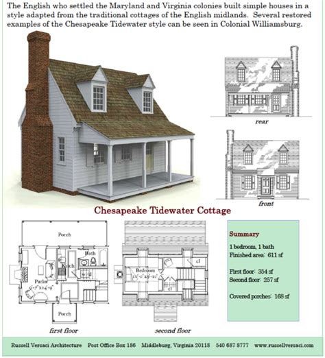 Simple Cottage Plans | russell versaci s simple cottage plans