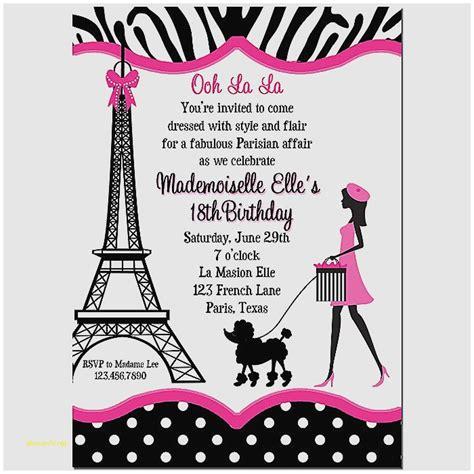 printable eiffel tower birthday invitations baby shower invitation inspirational free printable baby