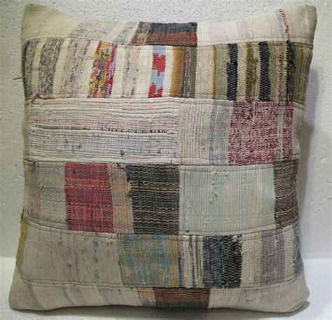 Patchwork Sofa Throw - antique patchwork throw pillow turkish kilim rustic