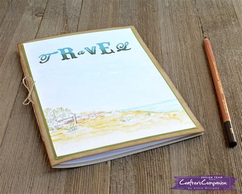 Handmade Travel Journal - handmade travel journal lab