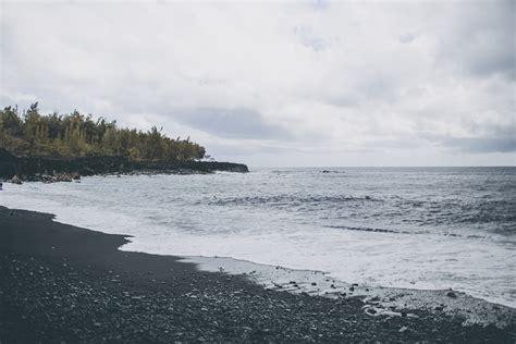 black sand beach san francisco black sand beach hawaii julia trotti
