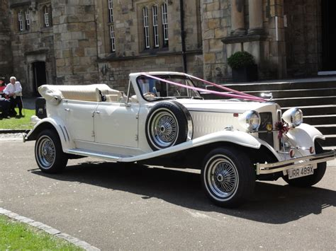 Wedding Car East Midlands by Vintage China Hire East Midlands Waxed