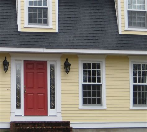 what color to paint front door of house choosing a yellow for your house color yellow houses