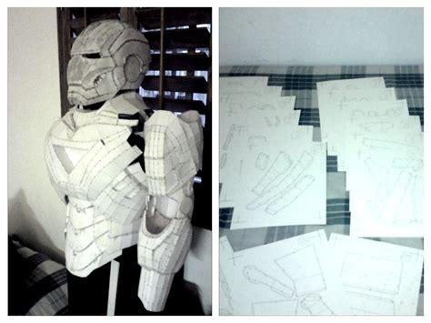 diy costum build ironman suit kids craft ideas