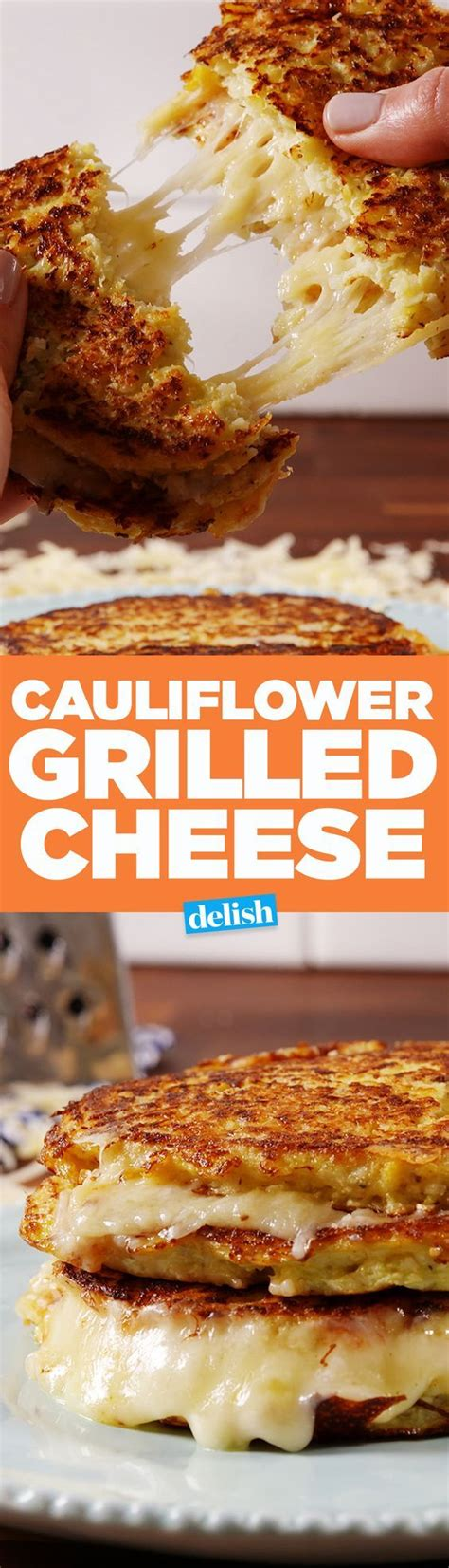 cauliflower grilled cheese cauliflower grilled cheese recipe