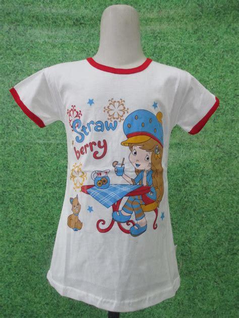 Baju Anak Kaos Anak Pakaian Anak Baju Coupleanak 1 kaos stabilo putih obralanbaju obral baju pakaian murah meriah 5000