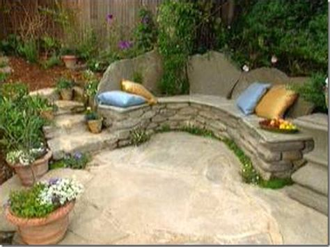 rock benches for garden how to make a lovely garden bench this