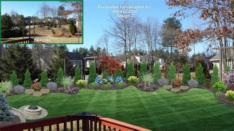 Landscape Design Plans Backyard by Backyard Landscape Designs Madecorative Landscapes Inc