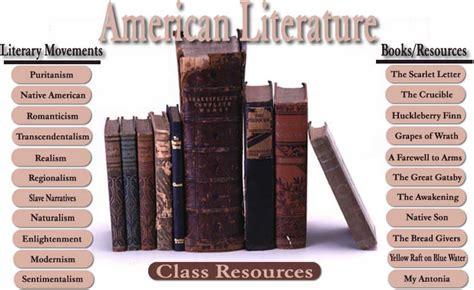 American Literatur american literature with mr burnett